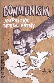 Digitalpostercollection Propaganda 1945 1991 Cold War Usa Communism Americas Mortal Enemy 3x5 Printed Poster