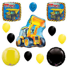 100 Tonka Truck Birthday Party S Construction Bulldozer Supplies Balloon