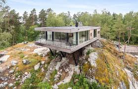 100 Homes For Sale In Stockholm Sweden Floating Clifftop House Outside Lists For 10m SEK