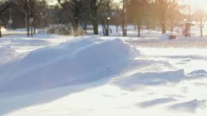 Snow Drift Stock Video Footage
