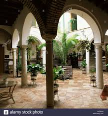 100 Court Yard Houses Yard Of A Traditional House Carmona Andalucia Spain
