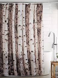 Light Grey Curtains Canada by Birch Forest Shower Curtain Simons Maison Shop Fabric Shower