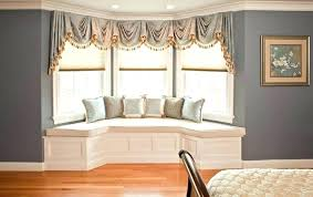 Bay Window Dining Room With Ideas Treatments For Windows In