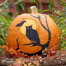 Pumpkin Patterns To Carve by No Carve Pumpkin Designs And Decorating Ideas