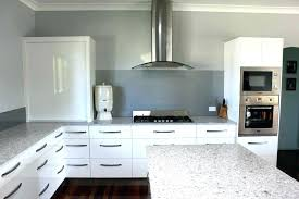 L Shaped Kitchen Bench Attractive Design Gallery Kitchens Intended For 3 With