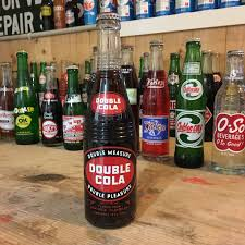 vintage royal crown cola soda bottle full from my past