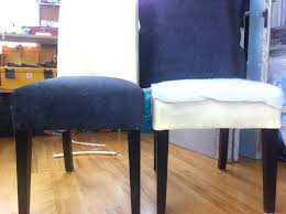 Diy Dining Chair Covers Slipcover No Sew