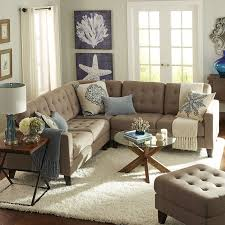 Build Your Own Nyle Putty Tan Sectional Collection