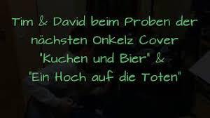 Bã Hse Onkelz Kuchen Und Bier Böhse Onkelz Kuchen Und Bier Ein Hoch Auf Die Toten Proberaum Teaser E Gitarre Schlagzeug