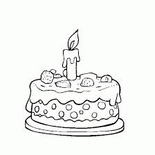 Drawn birthday birthday candle 6