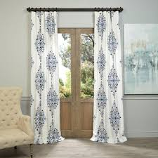 Blue Sheer Curtains 96 by Window Treatments Bellacor