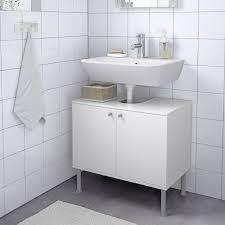 fullen wastafelkast met 2 deuren wit 60x55 cm ikea