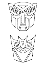 Animated Coloring Pages Transformers Image 0022