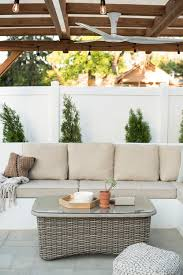 Our Backyard Reveal & Get The Look - Room For Tuesday Patio Ideas Cinder Block Diy Fniture Winsome Robust Stuck Fireplace With Comfy Apart Couch And Chairs Outdoor Cushioned 5pc Rattan Wicker Alinum Frame 78 The Ultimate Backyard Couch Andrew Richard Designs La Flickr Modern Sofa Sets Cozysofainfo Oasis How To Turn A Futon Into Porch Futon Pier One Loveseat Sofas Loveseats 1 Daybed Setup Your Backyard Or For The Perfect Memorial Day Best Decks Patios Gardens Sunset Italian Sofas At Momentoitalia Sofasdesigner Home Crest Decorations Favorite Weddings Of 2016 Greenhouse Picker Sisters