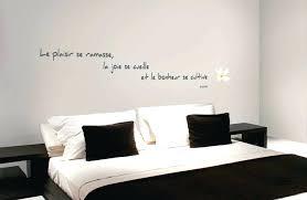 stickers citations chambre incroyable deco murale chambre ado 5 sticker citation bonheur