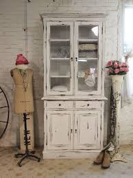 Shabby Chic Dining Room Hutch by Farmhouse Cabinet Use Bottom Of Singer Sewing Stand And Paint Top
