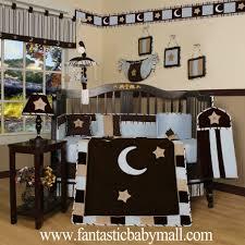 Geenny Crib Bedding by Custom Baby Bedding Brown Pink Star U0026 Moon 13 Pcs Crib Bedding Set