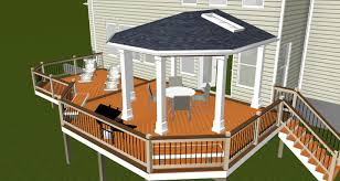 Design Renderings | Maryland Custom Outdoor Builder - Decks ... Patio Deck Designs And Stunning For Mobile Homes Ideas Interior Design Modern That Will Extend Your Home On 1080772 Designer Lowe Backyard Idea Lovely Garden The Most Suited Adorable Small Diy Split Level Best Nice H95 Decorating With Deck Framing Spacing Pinterest Decking Software For And Landscape Projects
