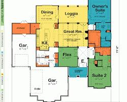 Special House Plans by Special House Plans Two Master Suites One Story Building Plans
