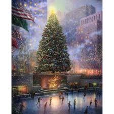 Thomas Kinkade Christmas Tree Teleflora by Stylish Design Thomas Kinkade Christmas Tree Animated Tabletop