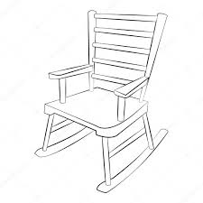 Black Outline Vector Chair — Stock Vector © Thanarat27 #94383514 Rocking Chair By Adigit Sketch At Patingvalleycom Explore Clipart Denture Walker Old Tvold Age Set Collection Pvc Pipe 13 Steps With Pictures Shop Monet Black And White Rocking Chair Walker Old Tvold Age Set Bradley Slat Patio Vector Clip Art Of A Catamart Isolated On White Background A Comfortable Illustration Silhouettes Of Home And Stock Image