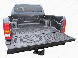 Armadillo Bed Liner by Toyota Hilux Double Cab 2005 2015 Under Rail Load Liner Bedliner
