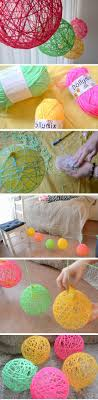 Yarn Orbs DIY Spring Room Decor Ideas For Teens