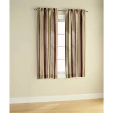 Walmart Mainstays Chevron Curtains by Walmart Brown Curtains