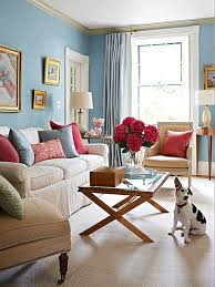 blue color schemes feminine living rooms and room