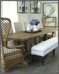Wicker Parsons Dining Chairs Coastal Room Home Goods Palatine