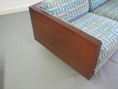 Danish Modern Sofa Ebay by Gorgeous Mid Century Modern Milo Baughman Style Walnut Case Sofa