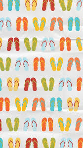 Colored Beach Slippers Background