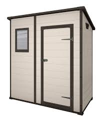 4x6 Plastic Storage Shed by Keter Manor Pent Outdoor Plastic Garden Storage Shed 6 X 4 Feet