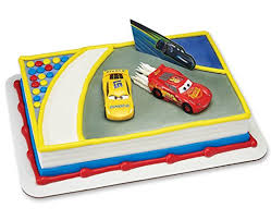 Amazon Cars 3 Ahead of the Curve Cake Decorating Topper Toys