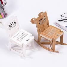 accesoire bureau mignon bricolage en bois cheval éducatifs 2018 bureau calendrier