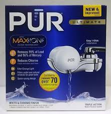 Pur Faucet Mounted Water Filter by Pur Ultimate Horizontal Faucet Mount Filtration System Water