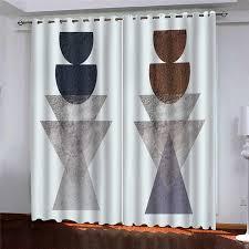 nach cortina 2020 3d vorhang kreative einfachheit für schlafzimmer wohnzimmer kinderzimmer vorhang fenster neue dekoration