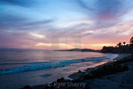 100 Santa Barbara Butterfly Beach Sunset License Download Or Print For