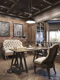 Interesting Ideas Rustic Office Design Fine 17 Best About Home Offices On Pinterest