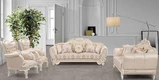 casa padrino luxus barock wohnzimmer set beige creme rosa 2 sofas 2 sessel wohnzimmer möbel im barockstil edel prunkvoll