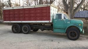 100 Chevy Truck 1970 Chevrolet C60 TA Grain Truck Selling On Big Iron 21418 YouTube