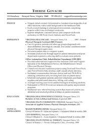 Executive Assistant Resumes Best Of Administrative Resume Samples Good For Receptionist