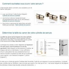 barillet securite porte entree cylindre de porte bricard 35x35 mm barillet de serrure