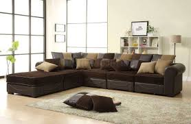 decorating ideas for living room with brown couch brown sofa and