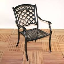 Summer Winds Patio Chairs by Bocara Sling Chair By Summer Winds Steel Frame Construction