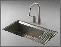 Kohler Strive Sink Rack by Kohler Stainless Steel Sink And Faucet Staccato Drop In Stainless