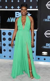 Leslie Jones From BET Awards 2017 Red Carpet
