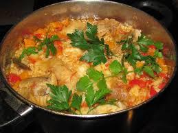 cuisine de la lotte arroz de tamboril riz à la lotte plat complet poisson