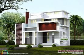 100 Home Designed 4 BHK 1244 Square Feet Modern Home Design Kerala Home