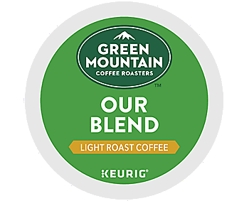 Green Mountain Our Blend Coffee K Cups - Light Roast, 24ct